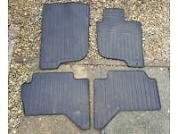 Genuine Mitsubishi L200 series 4 rubber car mats