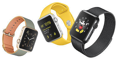 Apple Watches gibt es in verschiedenen Ausführungen. Gebraucht sind diese durchaus erschwinglich. (Foto: Apple)