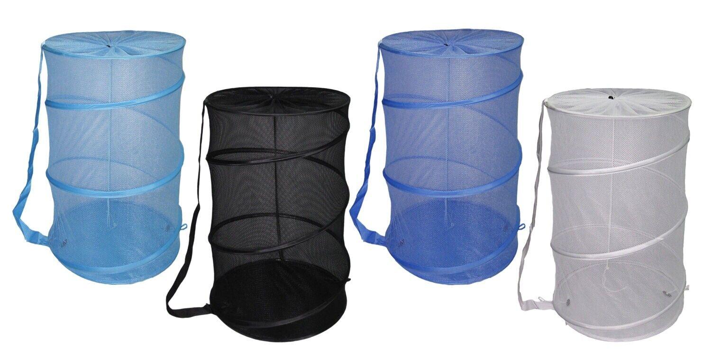 new mesh barrel pop up laundry hamper