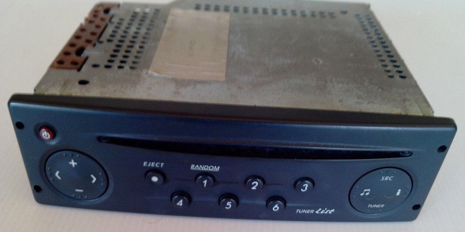 autoradio Auto Radio CD noir Renault laguna 2 II tuner list  Clio 2 avec code