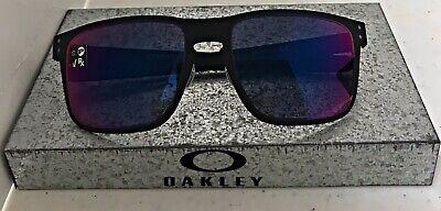 New Oakley Holbrook Metal Sunglasses Matte Black Red Iridium Lenses (Oakley Holbrook Sunglasses Matte Black Red Iridium)
