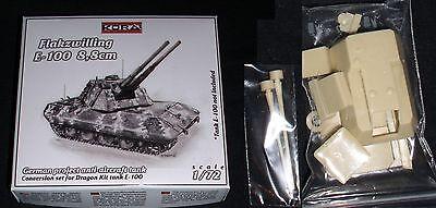E100 Flakpanzer 8,8cm Zwilling Umbausatz (für Dragon) 1/72 Kora