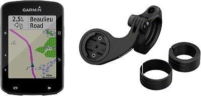 Garmin Edge 520 Plus GPS Cycling Computer Mountain Bike Bundle: Black