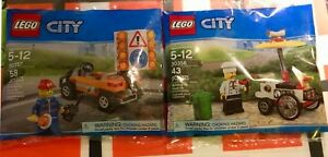 Lego city 30356 - 30357 polybag neuf