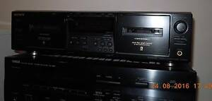 SONY STEREO DUAL CASSETTE DECK WITH MANUAL. VGC. CARRARA P/UP Carrara Gold Coast City Preview