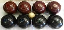 Lawn bowls - INDOOR BOWLS - Set of 8 Kensington Park Burnside Area Preview
