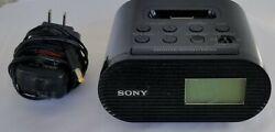 SONY Dream Machine AM FM Clock Radio ICF-CO5iP Ipod Dock