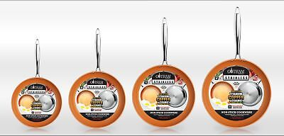 Gotham Steel Stainless Steel Premium Non Stick Frying Pan – 4 SIZES! BRAND NEW