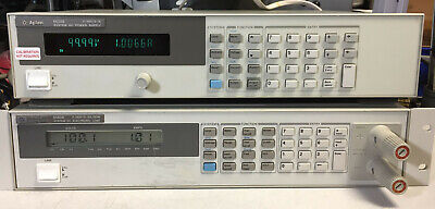 Hp Agilent 6634b Variable Dc Power Supply 100v 1a 100w Tested Full Load Gpib