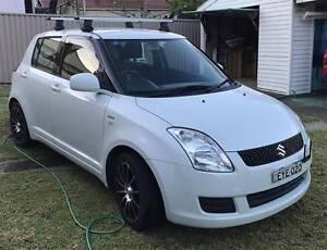 2009 Suzuki Swift Hatchback , thule roof rack , alloy wheels Ryde Ryde Area Preview