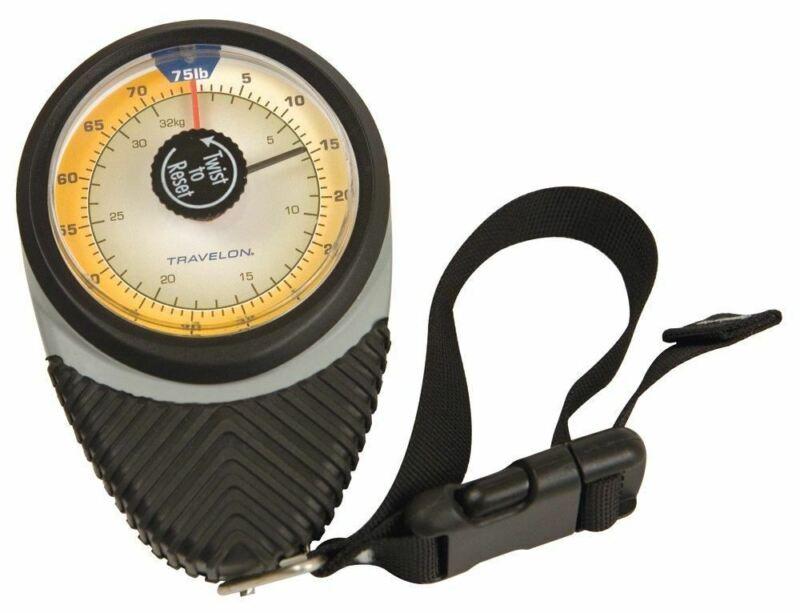 Travelon Ergonomic Mechanical Scale, Black, One Size