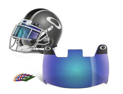 New Oakley Adult Blue Football Visor Eye Shield  - FREE SHIPPING