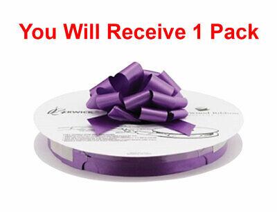 Berwick Ribbon Craft 3/4-Inch x 100-Yard Roll Flora Satin Craft Ribbon, Purple