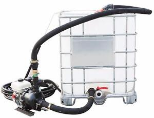 NEW ASPHALT DRIVEWAY SEALING SPRAYER SPRAY UNIT Hooks up to 275 Gallon Tote Buy NEW for price of used Parking lot
