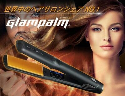 Glam Palm GP201BL Hair Iron for Professional 100~240V Fast Shipping Japan EMS
