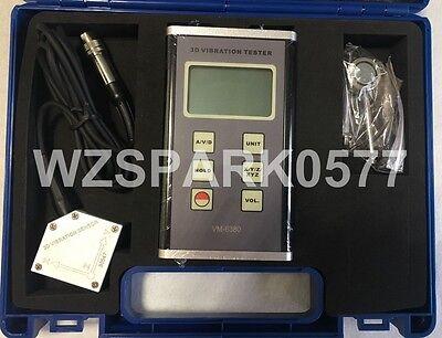 3-axis Accelerometer Xyz Digital Vibration Meter Tester Vm-63803d Vibrometer