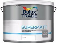 DULUX supermatt WHITE and GARDENIA 10L