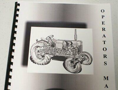 Massey Ferguson 1240 1250 1260 Tractor Operators Manual