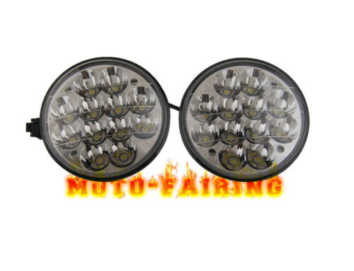 2PCS 5-3/4 INCH LED Cree Light Bulb Crystal Clear Sealed Beam Headlight Headlamp