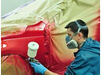 EXPERIENCED CAR-PAINTER / PANEL BEATER / REQUIRED - EARN UP-TO £400 PER WEEK AS PER EXPERTISE