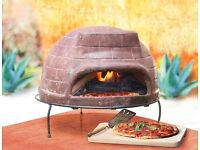 Mexican Clay Pizza Oven Wood Fired Outdoor Garden Oven