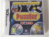 "Nintendo DS ""Puzzler World"" game"