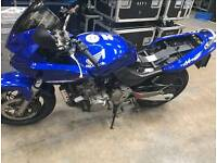 Honda Hornet CB600f Motorbike Motorcycle Blue New Tyres New Brakes Low Milage