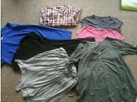 Maternity clothes size 14 from next, new look, hm etc