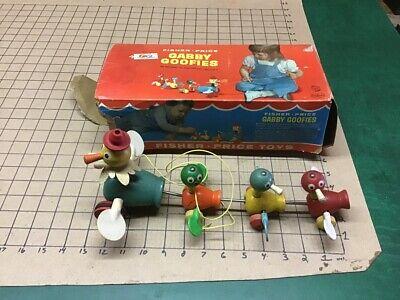 Vintage Original FISHER PRICE -- GABBY GOOFIES w box -- #777 - box as found