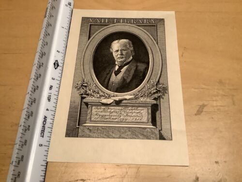 Original BOOKPLATE -  MIT 1912 - VAIL LIBRARY gift of AT&T