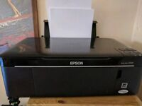 Printer Epson Stylus SX125 Print Scan Copy + 14 Cartridges