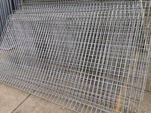 Rolled Top Wire Mesh Panel 2.4m*1.2m*5*15cm*4.9mm Only $62 Wetherill Park Fairfield Area Preview