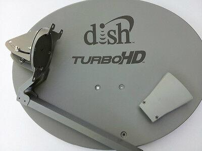 Dish Network 1000 2 Turbo Hd Satellite W O Lnb Western Reflector Yoke Arm West