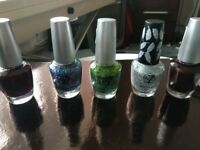 W7 nail varnish - 5 different colours