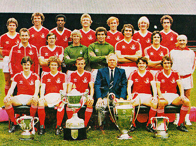 NOTTINGHAM FOREST FOOTBALL TEAM PHOTO>1979-80 SEASON