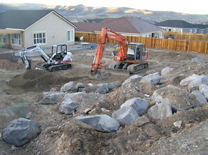 Bobcat, Excavator, Landscaping, Demolition, Skidsteer, Equipment