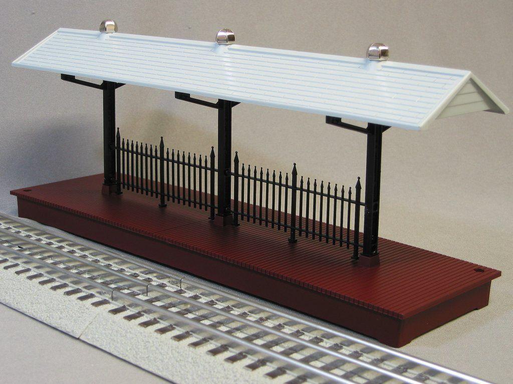 Lionel Train Station Platform O Gauge People Passenger Freight Track 6-24190