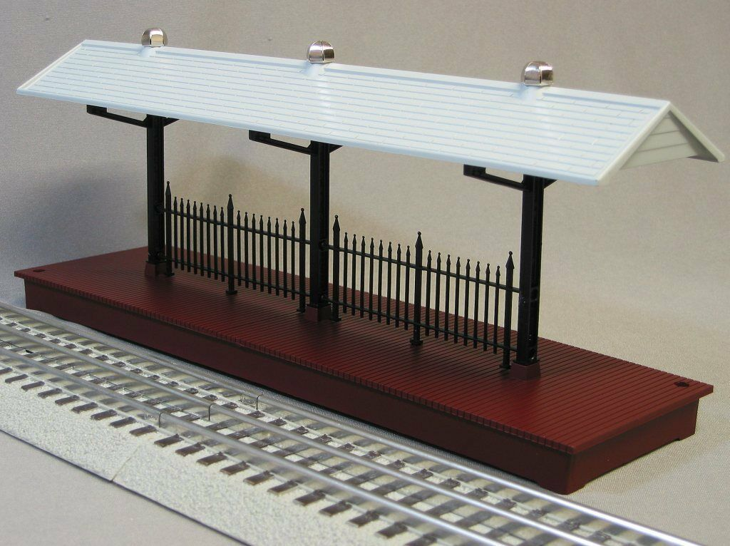 Lionel Train Station Platform O Gauge People Passenger Freight Track 6-24190
