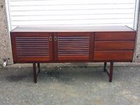 McIntosh vintage rosewood sideboard