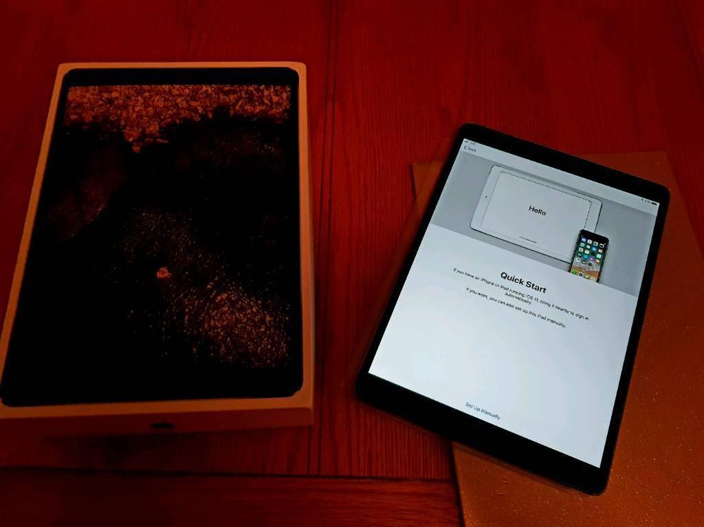 Apple iPad Pro 10.5 256 gig cell warranty boxed