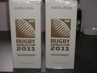 full set of 2011 rugby world cup programmes