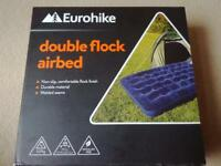 BRAND NEW BOXED INFLATABLE DOUBLE AIR BED MATTRESS