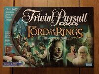 Lord of the Rings Trivial Pursuit - DVD Trilogy Edition Board Game