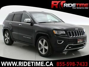 2016 Jeep Grand Cherokee Overland 4WD - Backup Camera, Pano Roof