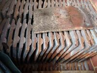 concrete roof tiles - second hand in good condition