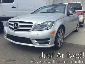 2013 Mercedes-Benz C350 4MATIC Coupe Premium Package