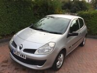 RENAULT - CLIO - 2008 , DIESEL , 66000 MILES - SECOND - OWNER - FROM - NEW