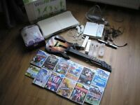 Nintendo Wii with lots of extras plus games REDUCED TO CLEAR NOW £70