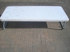 3 single mattresses with or with out base- with folding legs base if needed