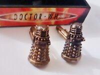 Doctor Who Dalek Cufflinks - Boxed
